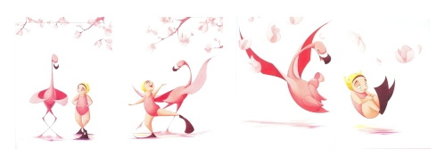 Flamingo Cannonball