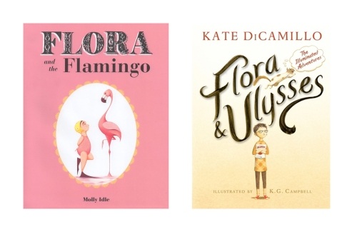Flora Book Covers