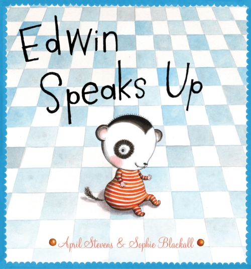 Edwin Speaks Up Cover