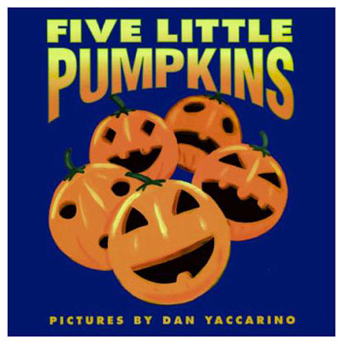 Five Little Pumpkins Cover